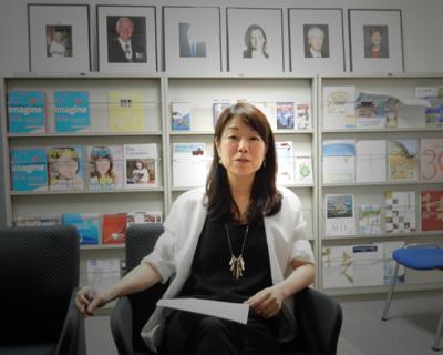 カナダ領事館 田中里佳さん