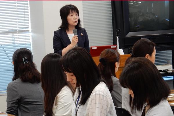 岐阜県健康福祉部子ども・女性局 局長 鈴木裕子氏